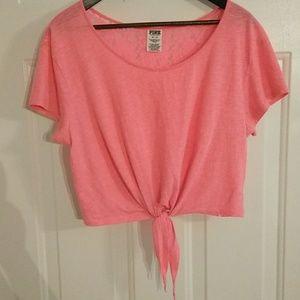 Victoria's Secret Lace back crop top XS