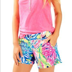 Lilly Pulitzer Size 0 NWT Callahan Shorts