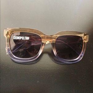 Cosmopolitan Brand Gradient Sunglasses