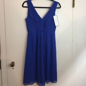 J. Crew silk party dress