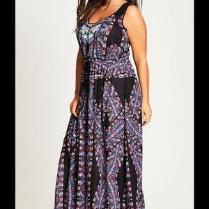 NWOT City Chic Maxi Dress