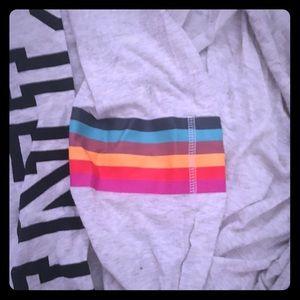 Victoria secret hoodie shirt
