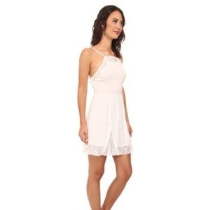 Free People Lace Insert Slip Dress