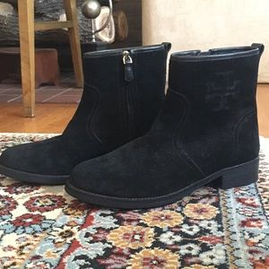 Tory Burch 'Simone' Booties in Black