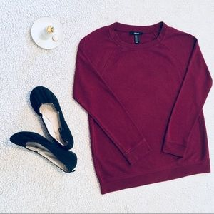 Wine Red Sweater