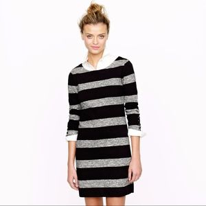 J.Crew Maritime Dress In Heathered Stripe #90