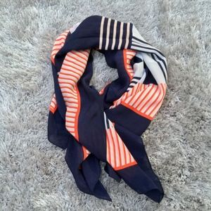Halogen Geo Square Silk Scarf