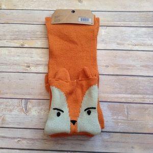 Other - Orange scarf with fox pockets