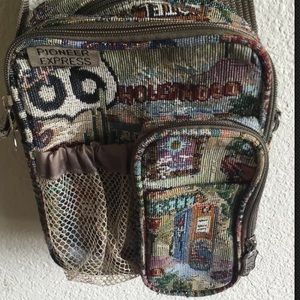 Hollywood Route 66 tapestry electronics bag travel
