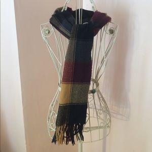 Fall color scheme scarf