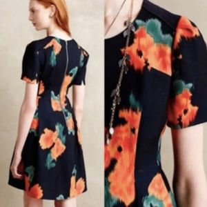 [ Anthropologie ] McGinn Poppy Floral Dress / 4