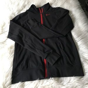 NIKE DRI FIT WORK OUT TRAINING JACKET