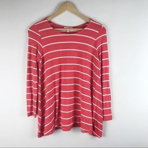 Anthropologie Puella Striped Darcy Swing Tunic
