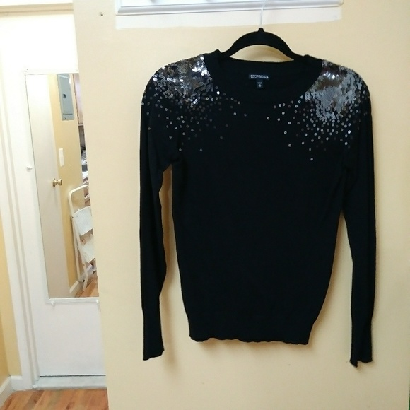 86% off Express Sweaters - Beautiful black Espress sweater from ...