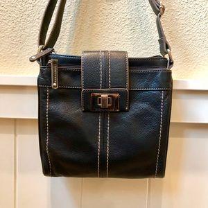 Gorgeous Tignanello Dark Brown Bag