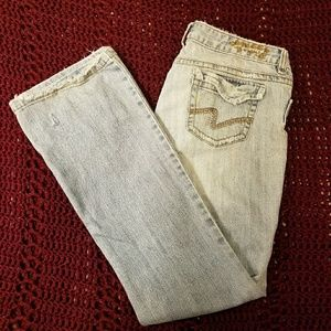 Mudd stretch comfort fit Jeans some distress