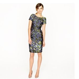 J CREW LILLIAN DRESS IN GARDENSHADE FLORAL