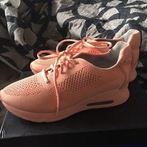 Gunmetal Blush Sneakers