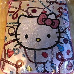 Other - Hello Kitty Glitter Messenger Bag