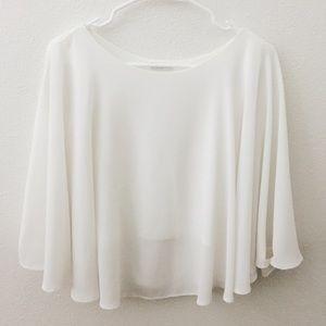 Zara white blouse :)