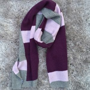 Halogen 100% Cashmere Color Block Scarf