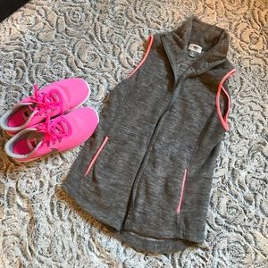Gray and pink xs vest🌈💜🌈