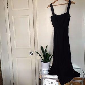 12c9185543a Reformation Dresses - NWOT Reformation Pomelo Linen Open Back Maxi Dress