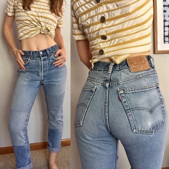 Re/done By Levis Woman Frayed Denim Shorts Blush Size 24 Re/Done 92J8jpO4Y