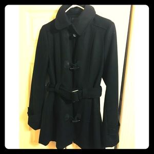 Forever 21 peacoat with belt!