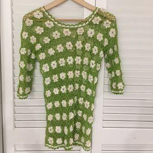 Tops - Crocheted top!