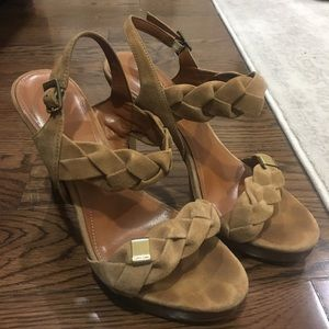 Calvin Klein suede heels