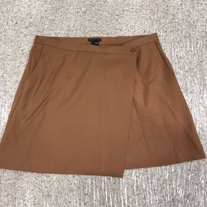 Theory Kirti Wool Wrap Skirt Size 8