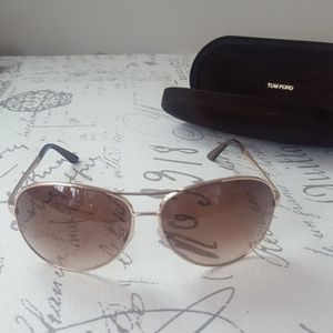 d75132ab2568 Tom Ford Accessories - Tom Ford Charles Round Aviators (NWOT)