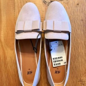 H&M bow loafers