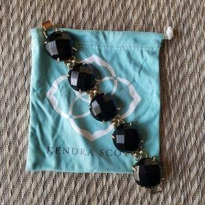 Kendra Scott Black Onyx bracelet