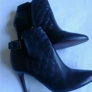 TORY BURCH ankle boots woman size 9 Black