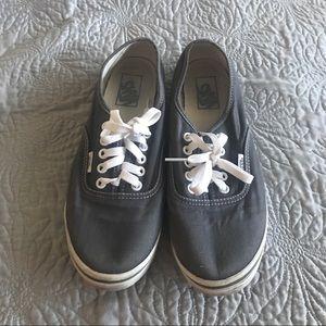 Vans grey lo pro sneakers