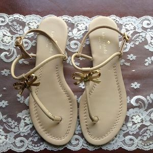 Kate Spade Tracie Bow Thong Sandals