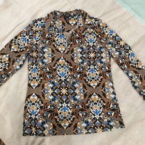 ALFANI Elegant deci blouse