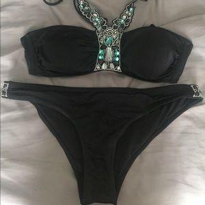 H&M Embellished Bikini