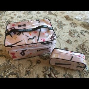 Kate Spade Make Up Tote And Matching Berrie