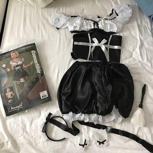 NWT costume Dreamgirl convertible maid