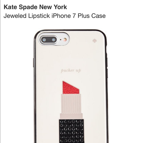new product 1369b 12408 NWOT kate♠️ iPhone 7plus phone case.