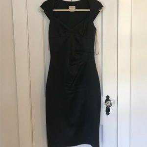 KAREN MILLEN ENGLAND Black Dress SZ. 8