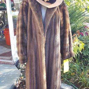 Fab Vintage Luna Raine mink coat L and up