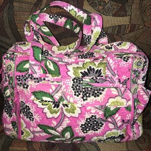 Vera Bradley baby bag w/ attached changing pad