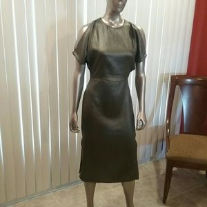 NWT H&M Silver Midi Dress 6,10,12 Final Price