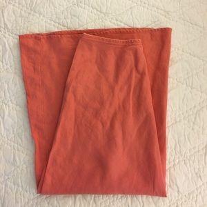 Garnet Hill Linen Skirt, Size 6