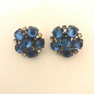 Jewelry - Vintage Blue Earrings