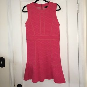 Marc by Marc Jacobs pink fit and flare dress